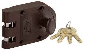 7 Godrej Locks Ultra Vertibolt Texture 1CK (Brown) (Free Installation)